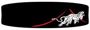 Tigre di Hokusai B/N