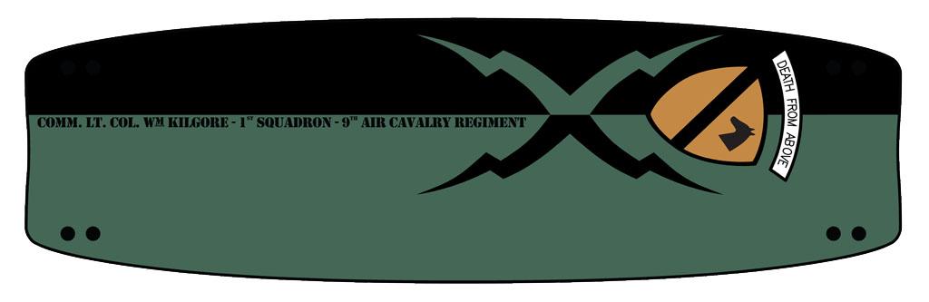Grafica per Suento kiteboard