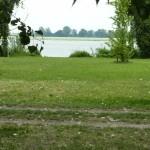 Fig.4 Vista lago Superiore dai giardini F. Bartoli