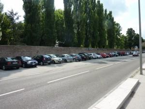 Fig.6 Parcheggi viale Mincio
